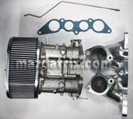 Weber 6 port side-draft intake systen